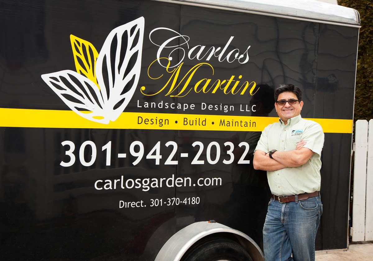 Washington DC Landscaper Carlos Martin